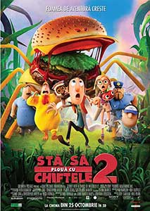 Cloudy with a Chance of Meatballs 2 (2013) Online Subtitrat