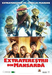 Extratereștrii din mansardă - Aliens in the Attic (2009) Film Online Subtitrat