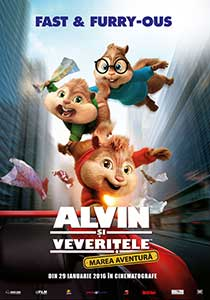 Alvin and the Chipmunks The Road Chip (2015) Online Subtitrat