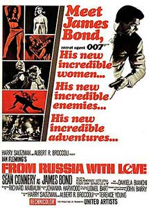 Din Rusia cu drag – From Russia with Love (1963)